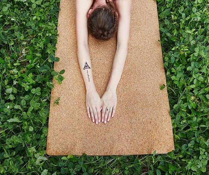 Organic Cork Yoga Mat