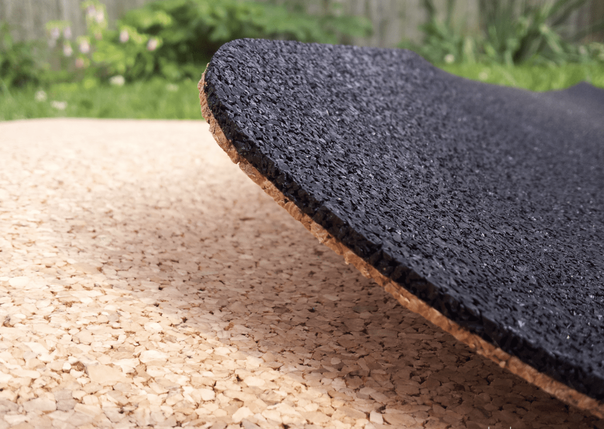 why use a cork yoga mat